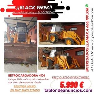 Venta de Retro-excavadora CASER 580G 4X4 de Ocasión