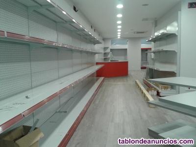 Venta de moviliario de comercio (estanterias, mostradores...)