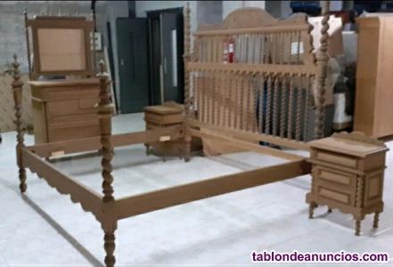 Dormitorio Salomonico de Teka Macizo