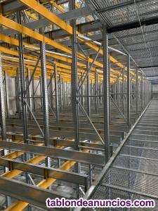 Montador estanterías industriales