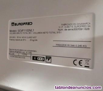 Congelador de cajones EUROFRED 315 litros