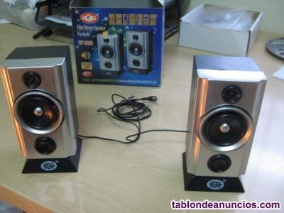 Altavoces mini stereo
