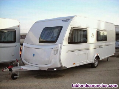 Venta Caravana Knaus Sudwind FSK 550 Seminueva aire acond. Calefacción. Mover