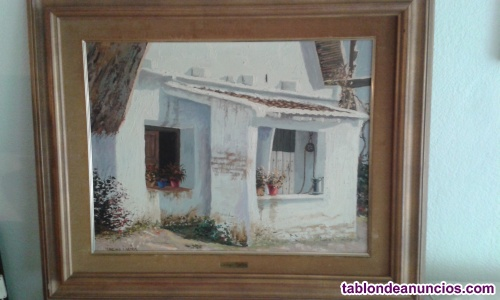 Oleo del pintor  MORENO i MIRA (Valencia)