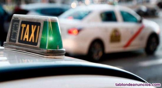 Busco conductor para taxi en Madrid