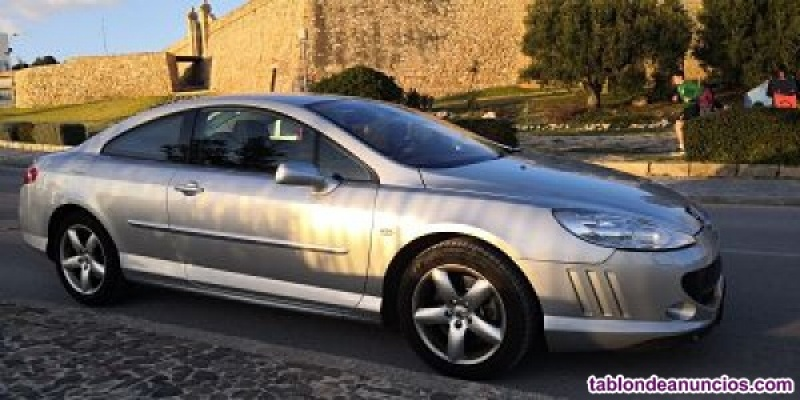Vendo peugeot 407 coupe 2.2 pack