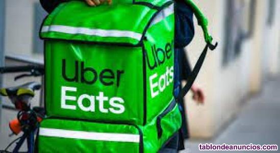 Buscamos Repartidores para uber eats
