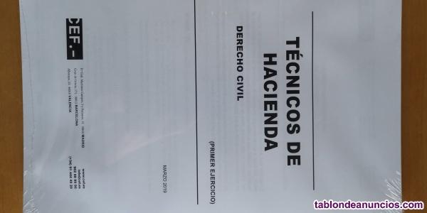 Temario CEF Técnico de Hacienda