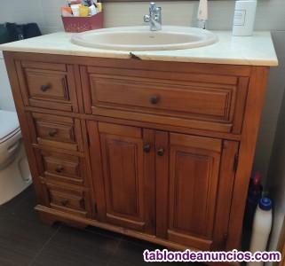 Mueble de baño estilo provenzal