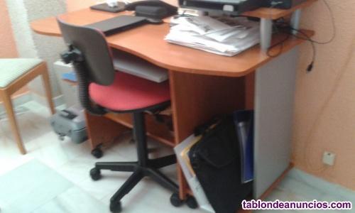 Mesa escritorio ordenador amplia