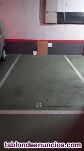 Plaza de garaje amplia
