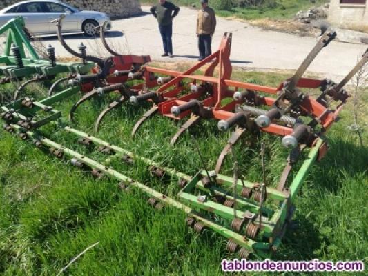 Cultivador Muelle 15 brazos