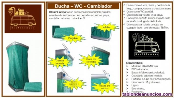 Duchicamper  - ducha para furgonetas camper