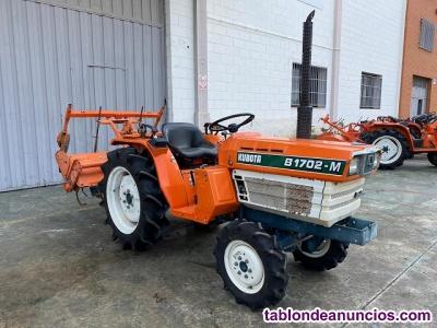 Tractor Kubota B1702DT doble tracción