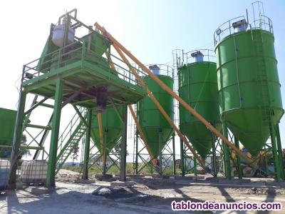 Planta de hormigón estacionaria de instalación rápida Sumab T-80