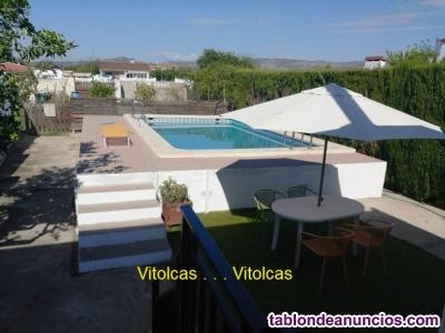 Villa: Mar,La Plana (muchos extras)