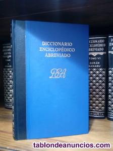 Diccionario enciclopédico espasa calpe edición año 1.974