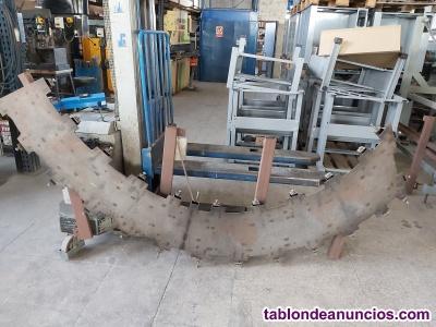 Utiles fabricacion pie de aparcamiento