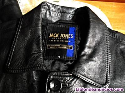 Chaqueta de piel de ( JACK JONES ) Talla (M