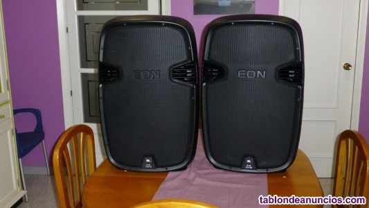 2 altavoces activos sonido jbl eon 515xt 1250w rms