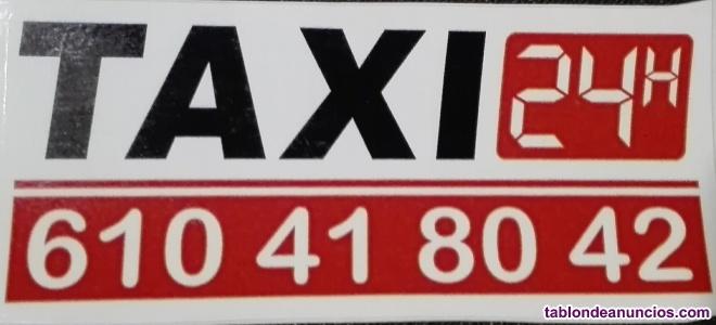 Taxi largo recorrido