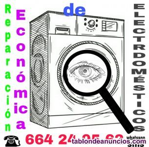 Electrodomésticos reparación garantizada