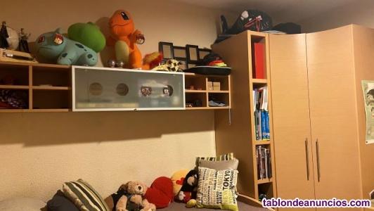Dormitorio modular juvenil