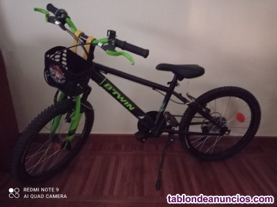 Bicicleta mountain bike niño