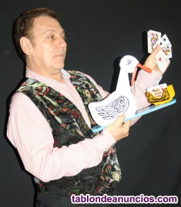 Espectáculo profesional de magia e ilusionismo