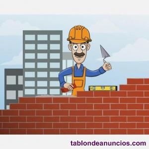Buscamos oficiales de la construccion