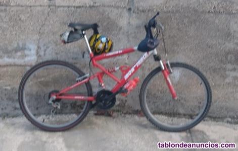 Bicicleta marca iron
