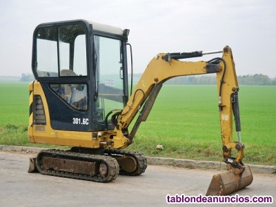 Mini excavadora CAT 301.6 C