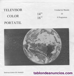 Televisor itt ideal color 16 pulgadas.
