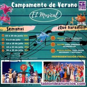 Campamento de Verano Urbano-El Musical