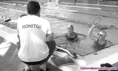 Monitor/a natación