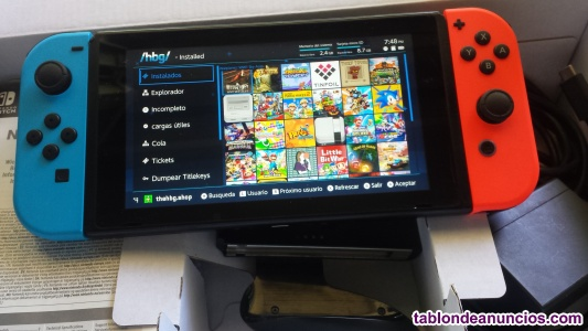 Nintendo switch 2017 con h ack lista para juagar 631238872