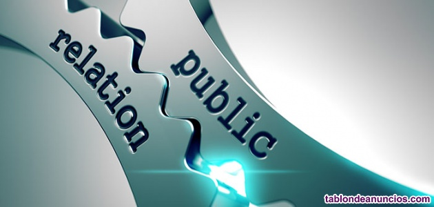 Buscamos rrpp relaciones públicas