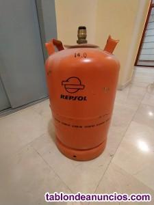 BOMBONA DE GAS BUTANO VACIA