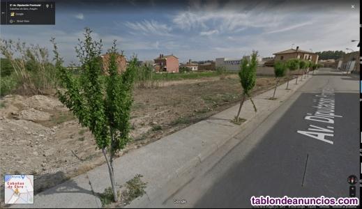 Terreno urbano y edificable en Cabañas de Ebro.