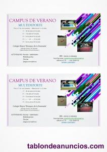 Campamento multideporte de verano