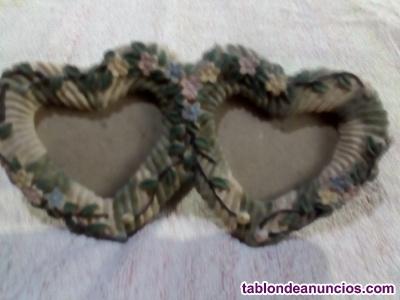 Vendo cuadro con dos corazones por 1 euro