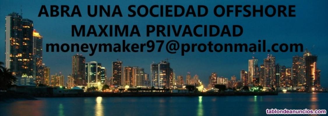 Ofrecemos asesoria y gestionamos apertura de sociedades offshore
