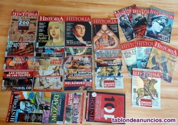 """33 Revistas de """"La aventura de la Historia"""" por 3€."""