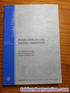 Varios libros de la UNED Ciencias Ambientales. 2005. Ver descripción.