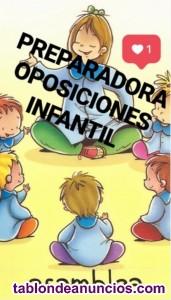 Preparadora oposiciones maestros infantil murcia 2022