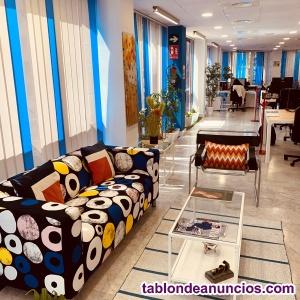 Funcionales y modernos espacios de trabajo compartido
