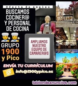 !!!! ocasión oferta cocinero!!!!