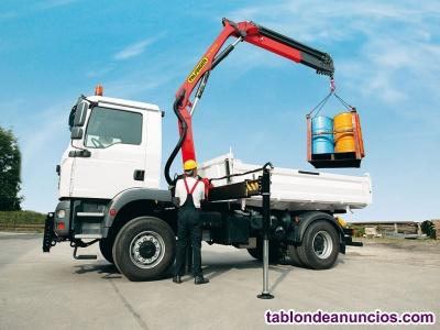Conductor de camión grúa