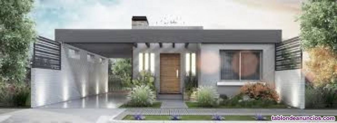 Viviendas steel framing (multiples acabados diseños modernos)