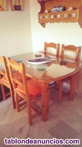 Mesa Provenzal y sillas